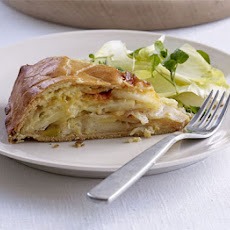 Deep-dish Cheese, Onion & Potato Pie