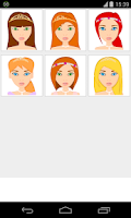 Screenshot of princess makeup games