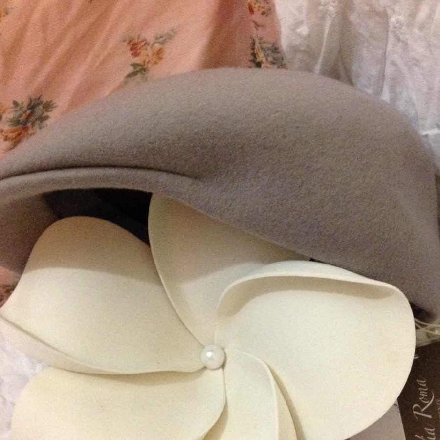 Soft lilac cap