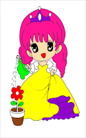 Screenshot of Princess Coloring Pages