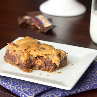 Gooey Chocolate Chip Toffee Bars