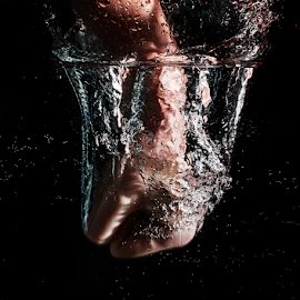 Fist Splash 1 by Don Alexander Lumsden - People Body Parts