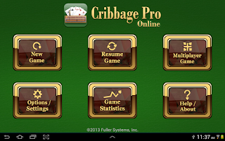 Screenshot of Cribbage Pro Online!