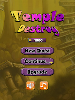 Screenshot of Destroy the Temple