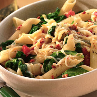 Penne & Spinach Pasta Toss
