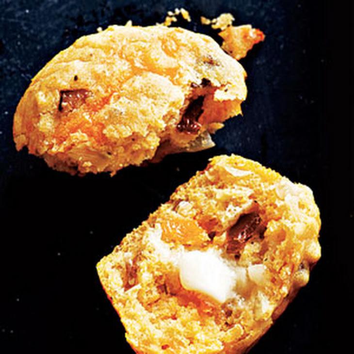 Bacon, Onion, and Cheddar Corn Muffins Recipe | Yummly