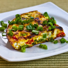 Asparagus and Tomato Frittata with Havarti and Dill