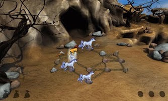 Screenshot of Hungry Lion - Puzzle Game