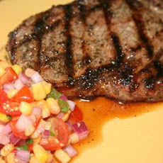 Steak With Tomato Salsa