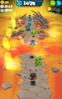 Screenshot of Catcha Catcha Aliens!