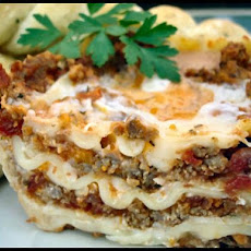 Lasagna from the kitchen of Bernie Knight