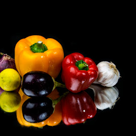 Still Life with vegitables by Rakesh Syal - Food & Drink Fruits & Vegetables (  )