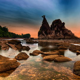 Other Side Of Tanjung Layar by Aditya Permana - Landscapes Beaches