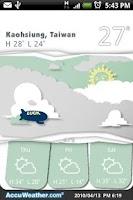 Screenshot of 9s-Weather Theme+(PaperCut)