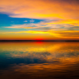 Magnificent Sunset by Stephen Ofsthun - Landscapes Sunsets & Sunrises