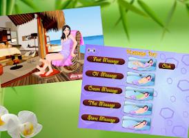 Screenshot of Massage Salon - Girl game