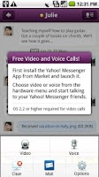 Screenshot of Yahoo Messenger Plug-in