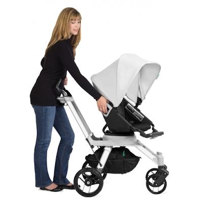 acheter poussette orbit baby g2 avec nacelle couleur noire acier marseille chez th o des. Black Bedroom Furniture Sets. Home Design Ideas