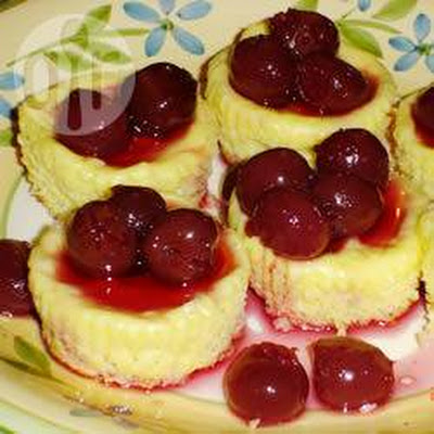 Mini Cheesecakes Met Koekjesbodem