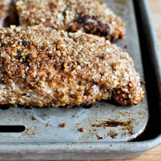Cinnamon Pecan Crusted Salmon