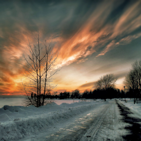 by Otto Mercik - City,  Street & Park  City Parks ( , golden hour, sunset, sunrise )