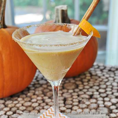 Vegan Pumpkin Spice Martini
