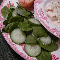 Spinach Cucumber Salad