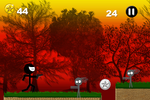 Screenshot of Line Zombie Counter Strike Gun