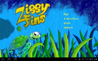 Screenshot of Ziggy Fins Lite