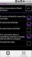 Screenshot of Check C++ knowledge