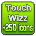 TouchWizz CM7 Theme +250 icons icon
