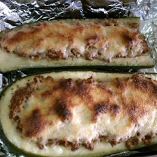 Stuffed Zuccini Boats