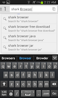 Screenshot of Shark Browser Free