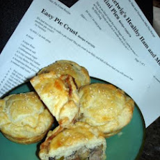 Elitetwig's Healthy Ham and Mushroom Mini Pies