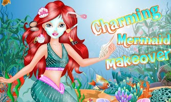 Screenshot of Charming Mermaid Makeover