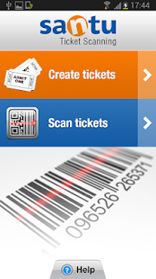 Santu Ticket Scanning - screenshot