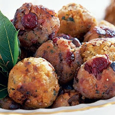 Kittencal's Holiday Cranberry Stuffing Balls