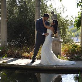 Kiss Me by Nancy Lowrie - Wedding Bride & Groom ( Wedding, Weddings, Marriage )