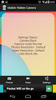 Screenshot of Mobile Hidden Camera