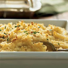 Fontina and Mascarpone Baked Pasta