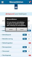 Screenshot of NieuweWetten