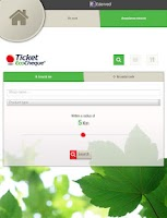 Screenshot of TicketFinder Belgium