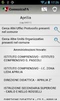 Screenshot of ComunicaPA