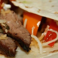 Ww 3 Points - Grilled Beef Fajitas