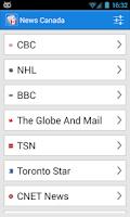 Screenshot of News Canada