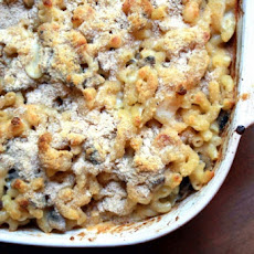 Macaroni Gratin With Wild Mushrooms