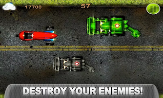 Screenshot of CRAZY CAR CLASH Turbo Racing