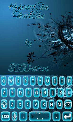KB SKIN - Floral Blue
