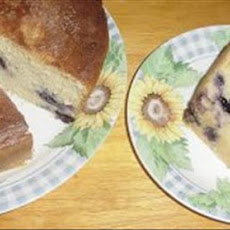 Blueberry Yeast Cake