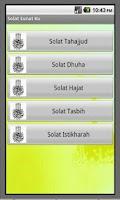 Screenshot of Solat Sunat Ku